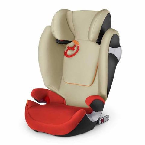 Cybex Solution M-Fix Car Seat in Autumn Gold