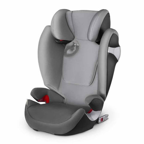 Cybex Solution M-Fix Car Seat Manhattan Grey