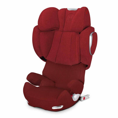 Cybex Solution Q2-Fix Plus Car Seat in Mars Red