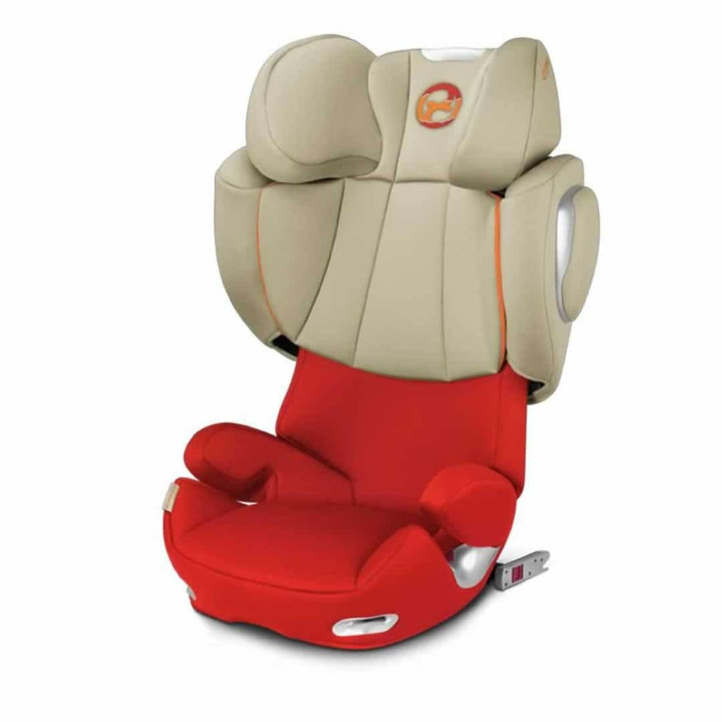 Cybex Solution Q3-Fix Car Seat in Autumn Gold