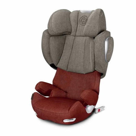Cybex Solution Q3-Fix Plus Car Seat in Autumn Gold