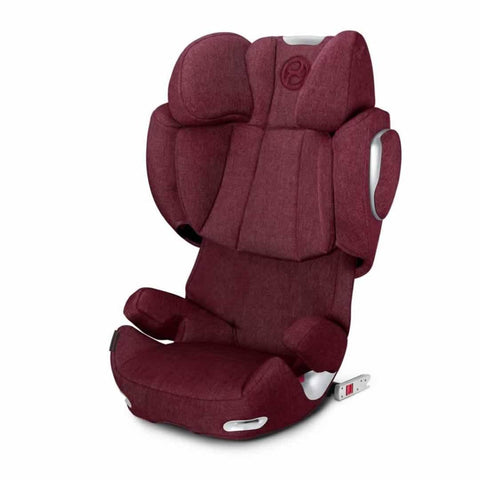 Cybex Solution Q3-Fix Plus Car Seat in Infra Red