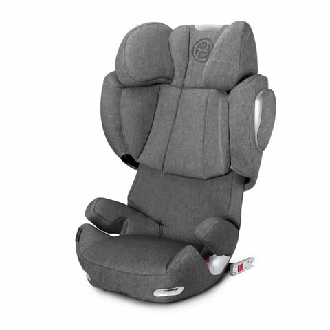 Cybex Solution Q3-Fix Plus Car Seat in Manhattan Grey
