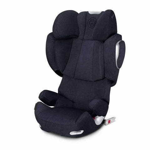 Cybex Solution Q3-Fix Plus Car Seat in Midnight Blue