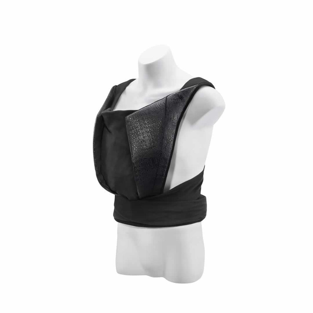 Cybex Yema Leather Baby Carrier in Stardust Black