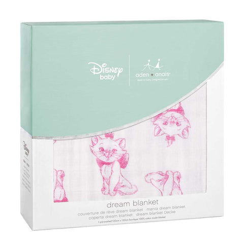 aden + anais Muslin Dream Blanket - Aristocats 2