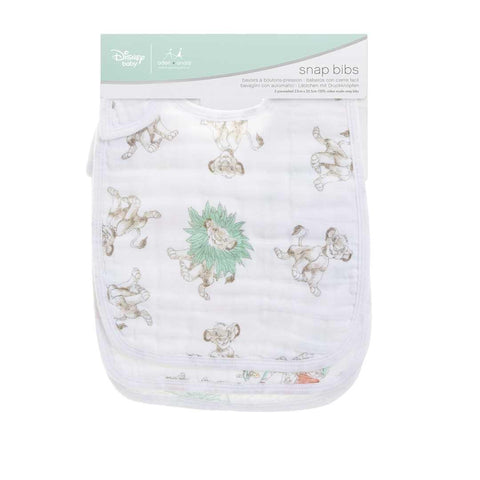 aden + anais Snap Bibs - Lion King - 3 Pack 2