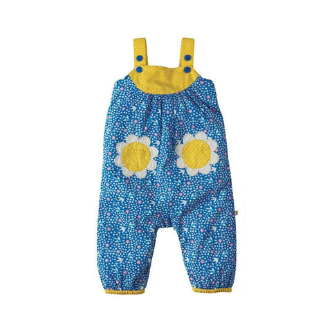 Frugi Springtime Dungaree - Summer Swallows