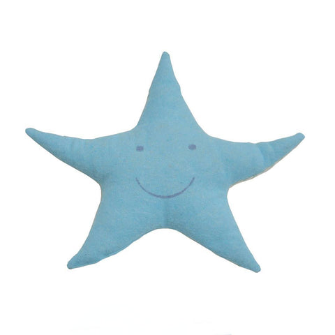 David Fussenegger Star Cushion Blue