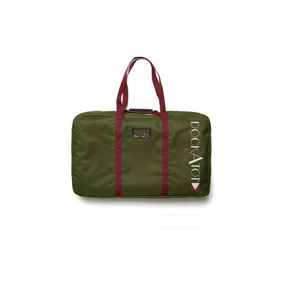 DockATot Deluxe+ Transport Bag - Moss Green Canvas-Transport Bags-Moss Green Canvas- Natural Baby Shower
