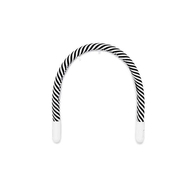 DockATot Toy Arch - Black + White Stripe-Baby Gyms-Black + White Stripe- Natural Baby Shower