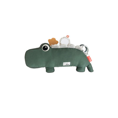 Done by Deer Tummy Time Activity Toy - Croco - Green-Soft Toys- Natural Baby Shower