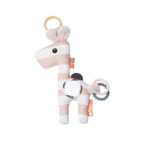 Done by Deer Activity Raffi - Powder-Soft Toys- Natural Baby Shower