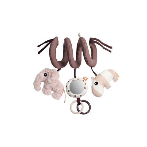 Done by Deer Activity Spiral - Powder-Clip Toys- Natural Baby Shower