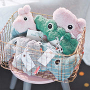 Done by Deer Cuddle Cute Ozzo - Powder-Soft Toys- Natural Baby Shower