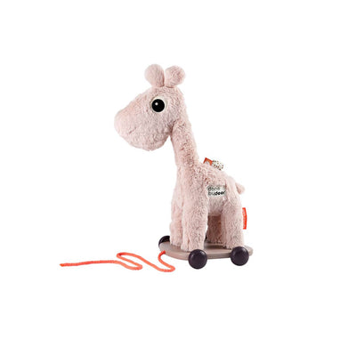 Done by Deer Pull Along Raffi - Powder-Baby Walkers- Natural Baby Shower