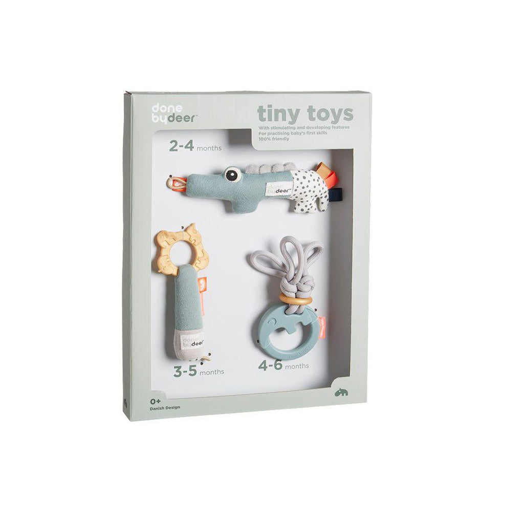 Done by Deer Tiny Activity Toys Gift Set-Gift Sets- Natural Baby Shower