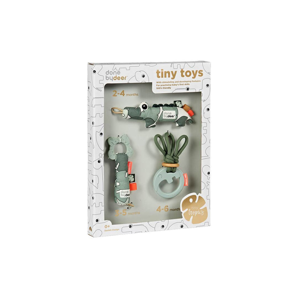 Done by Deer Tiny Tropics Tiny Toys Gift Box-Gift Sets- Natural Baby Shower