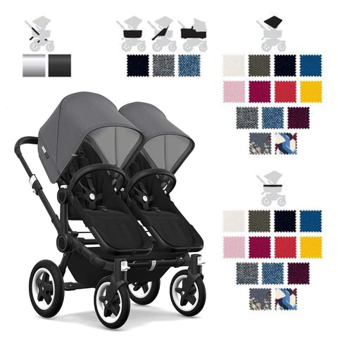 Bugaboo Donkey2 Twin Stroller Create and Buy