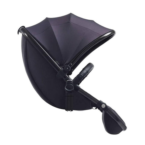 egg Tandem Seat - Gun Metal with Storm Grey - Tandem Seats - Natural Baby Shower