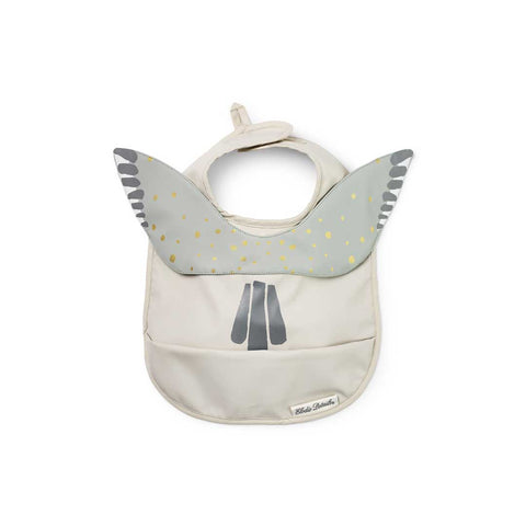 Elodie Details Baby Bib - Watercolour Wings-Bibs-Watercolour Wings- Natural Baby Shower
