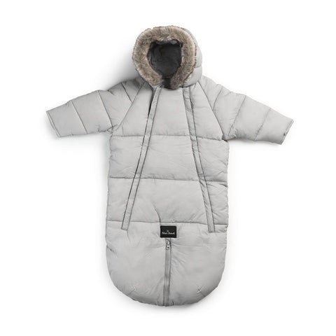 Elodie Details Baby Overall Pramsuit - Marble Grey-Coats & Snowsuits- Natural Baby Shower