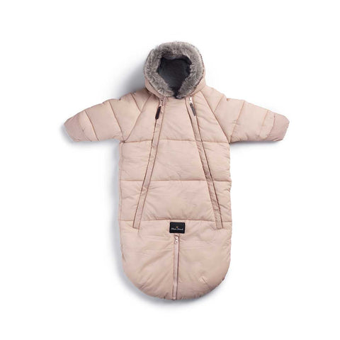 Elodie Details Baby Overall Pramsuit - Powder Pink-Coats & Snowsuits- Natural Baby Shower