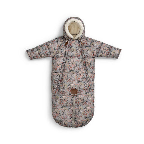 Elodie Details Baby Overall Pramsuit - Vintage Flower-Coats & Snowsuits- Natural Baby Shower