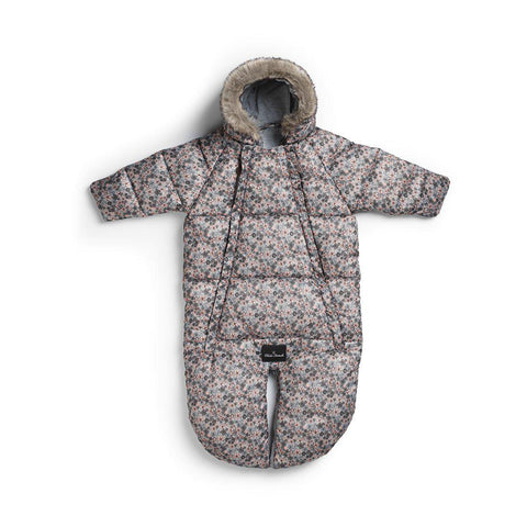 Elodie Details Baby Overall Pramsuit - Petite Botanic-Coats & Snowsuits- Natural Baby Shower