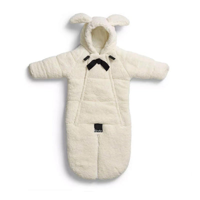 Elodie Details Baby Overall Pramsuit - Shearling-Coats & Snowsuits- Natural Baby Shower