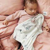 Elodie Details Bamboo Muslin Blanket - Feathered Friends-Blankets-Default- Natural Baby Shower
