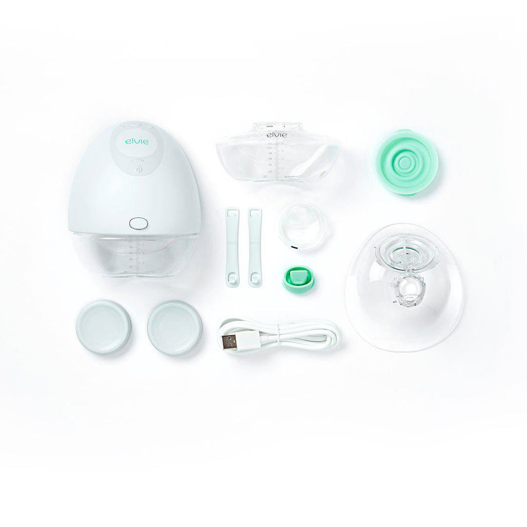 Elvie Single Pump-Breast Pumps & Adapters- Natural Baby Shower