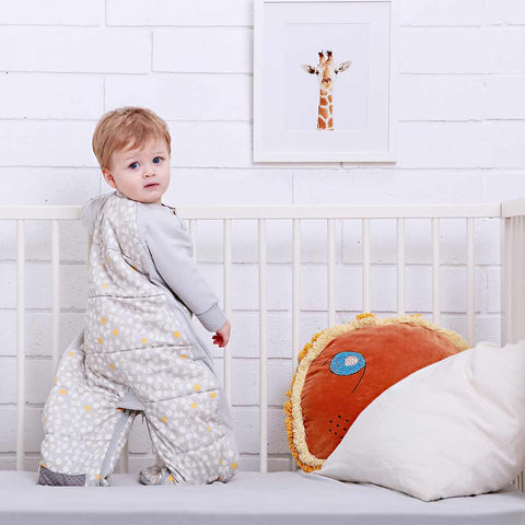 ErgoPouch Sleep Suit Bag TOG 2.5 - Triangle Pops-Sleeping Bags- Natural Baby Shower
