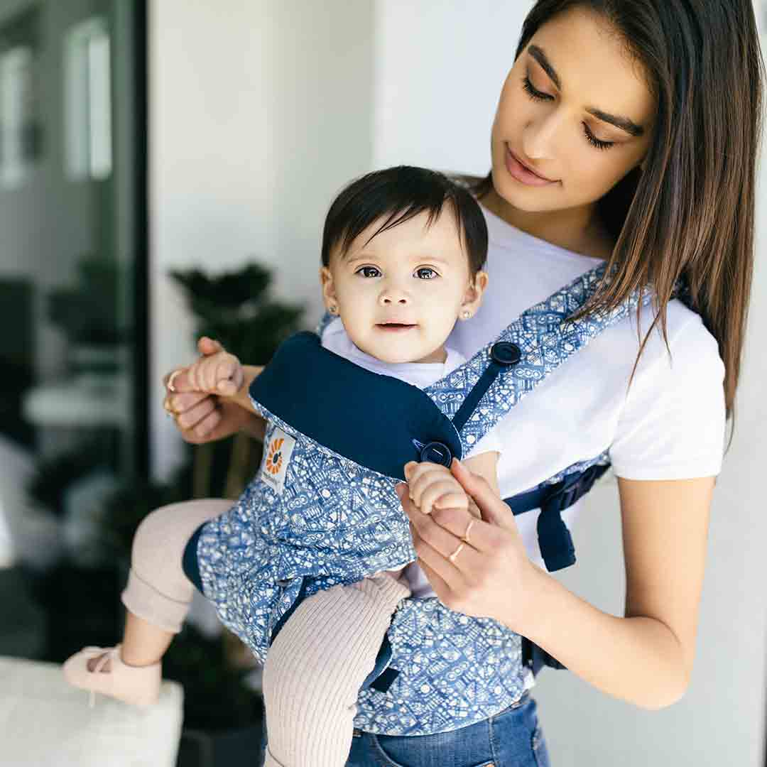 2a74586e3fe Ergobaby 360 Baby Carrier in Batik Indigo – Natural Baby Shower