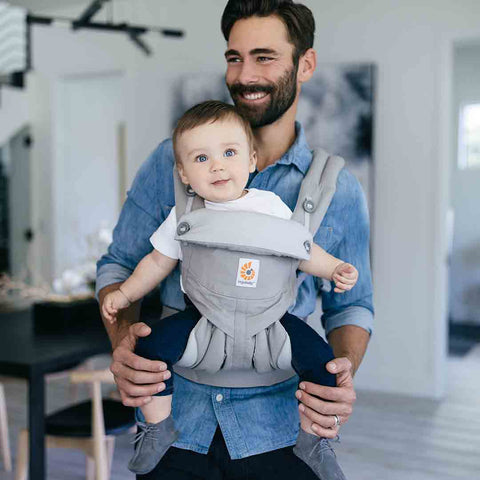 Ergobaby 360 Baby Carrier - Pearl Grey-Baby Carriers-Pearl Grey- Natural Baby Shower