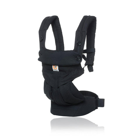 Ergobaby 360 Baby Carrier - Pure Black-Baby Carriers-Pure Black- Natural Baby Shower