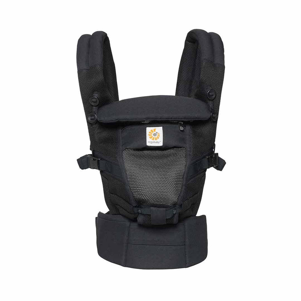 Ergobaby Adapt Carrier - Cool Mesh - Onyx Black Front