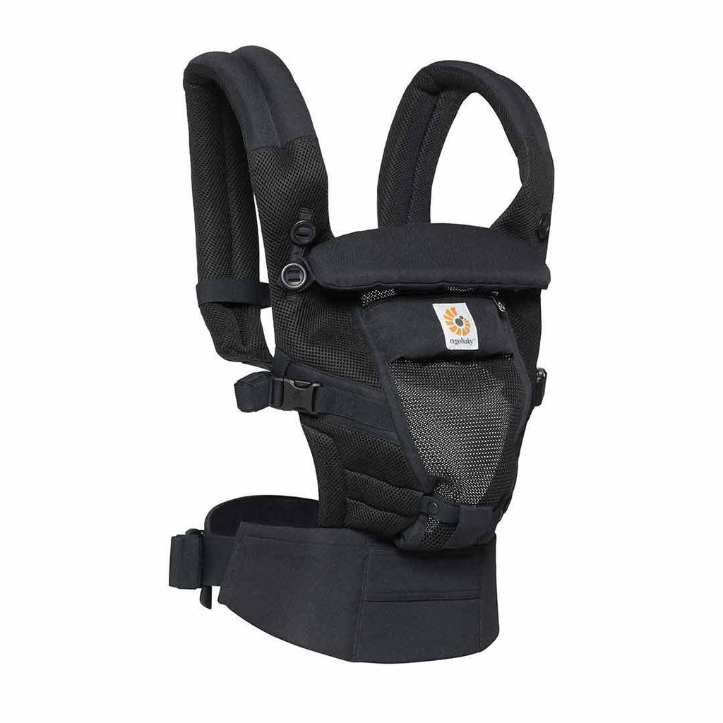 Ergobaby Adapt Carrier - Cool Mesh - Onyx Black Side
