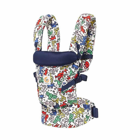 Ergobaby Original Adapt Carrier - Keith Haring - Pop-Baby Carriers-Pop- Natural Baby Shower