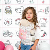 Ergobaby Doll Carrier - Hello Kitty Play Time 1