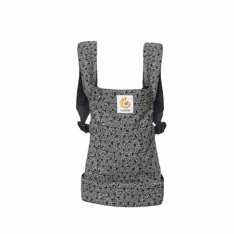 Ergobaby Doll Carrier - Keith Haring - Black