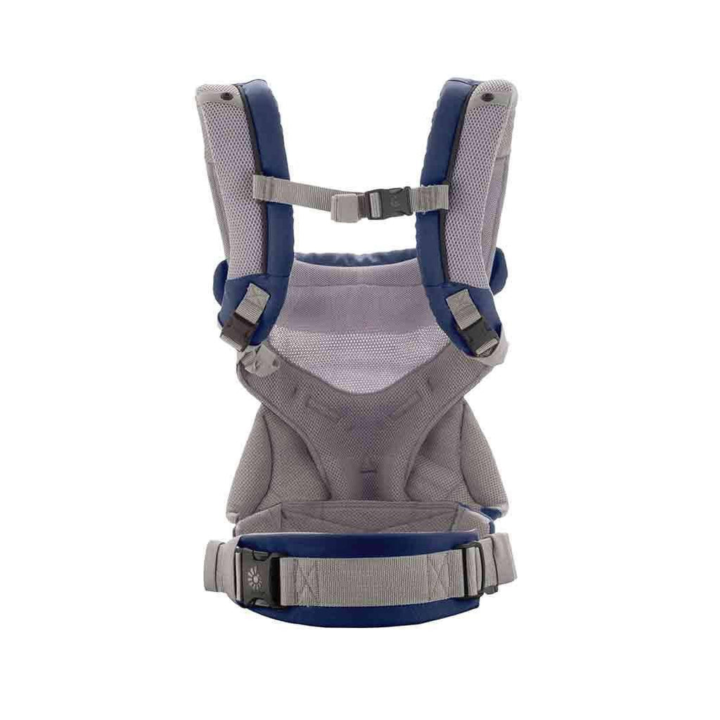 Ergobaby Four Position 360 Carrier - Cool Air Mesh - French Blue Back