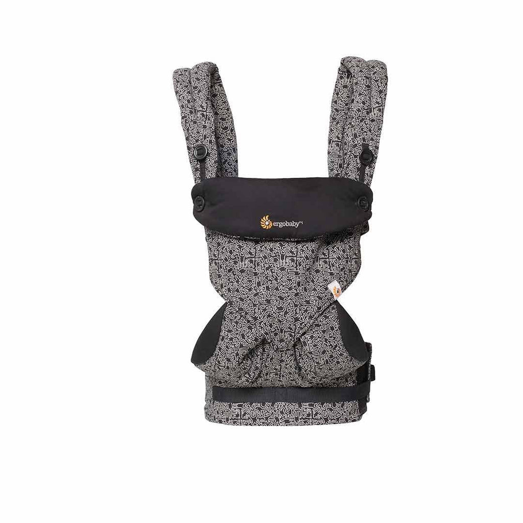 Ergobaby Four Position 360 Carrier - Keith Haring - Black Front
