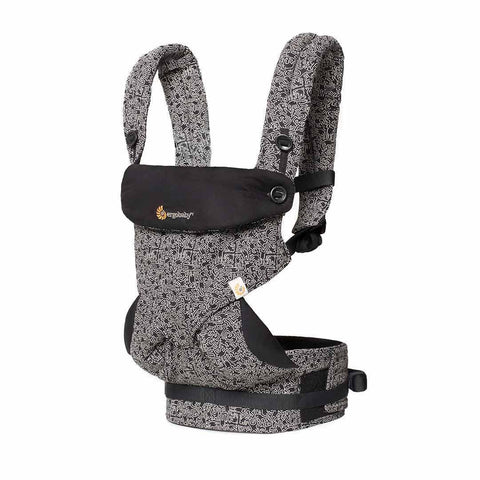 Ergobaby Four Position 360 Carrier - Keith Haring - Black