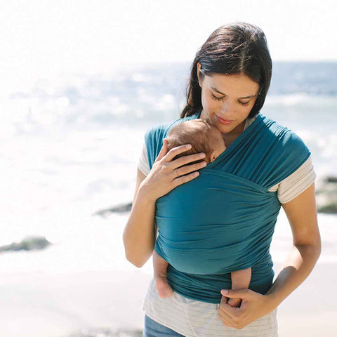 Ergobaby Lightweight Aura Baby Wrap - Amalfi-Baby Carriers-Amalfi- Natural Baby Shower