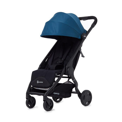 Ergobaby Metro 1.5 Compact City Stroller - Marine Blue-Strollers- Natural Baby Shower