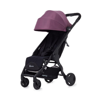 Ergobaby Metro 1.5 Compact City Stroller - Plum-Strollers- Natural Baby Shower