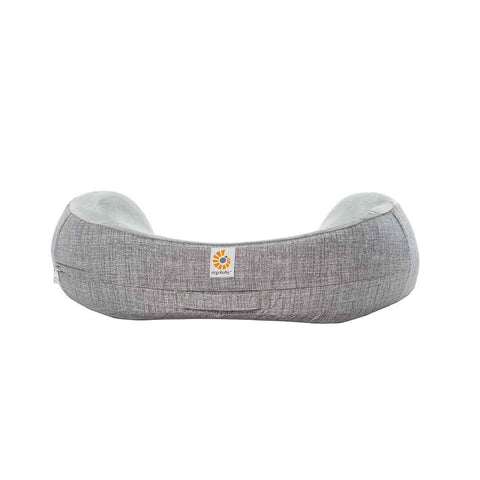 Ergobaby Natural Curve Nursing Pillow Cover - Grey-Maternity Cushions-Grey- Natural Baby Shower
