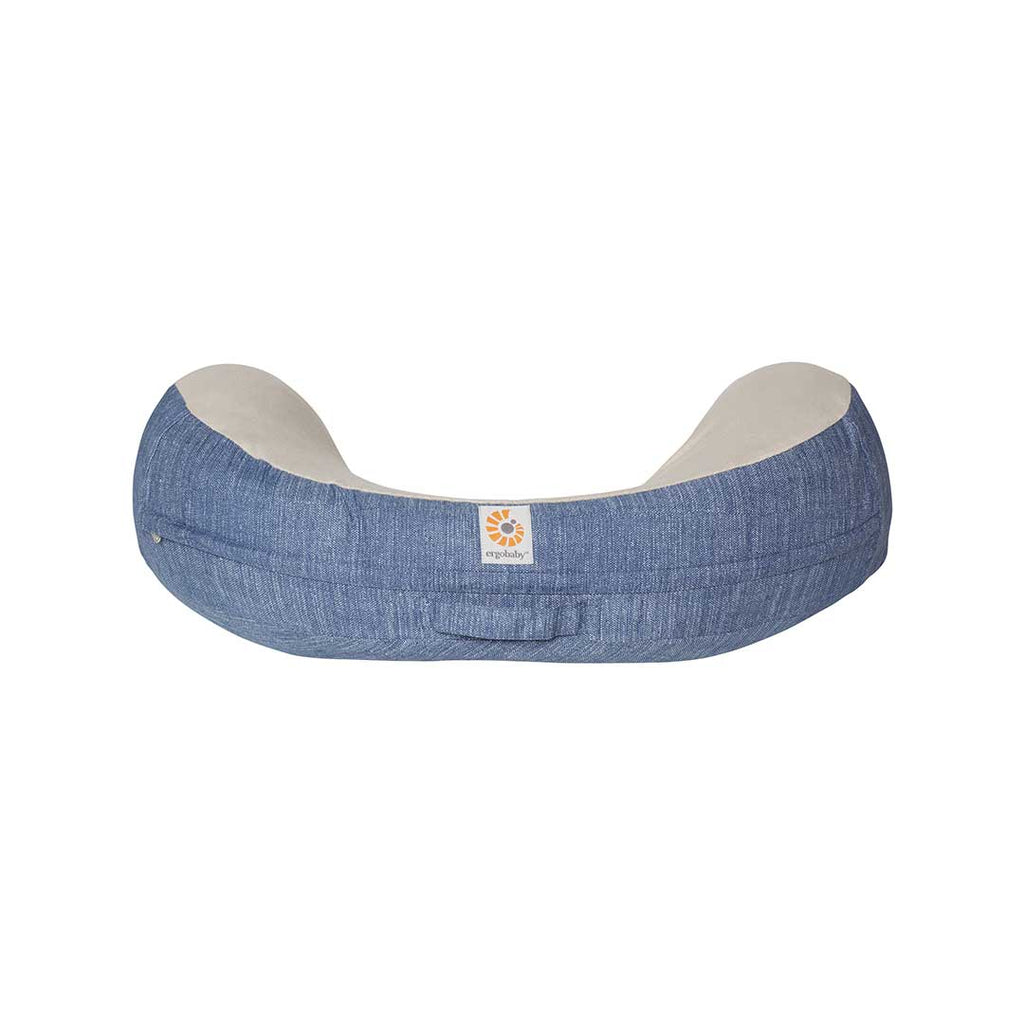 Ergobaby Natural Curve Nursing Pillow Cover - Vintage Blue-Maternity Cushions-Vintage Blue- Natural Baby Shower