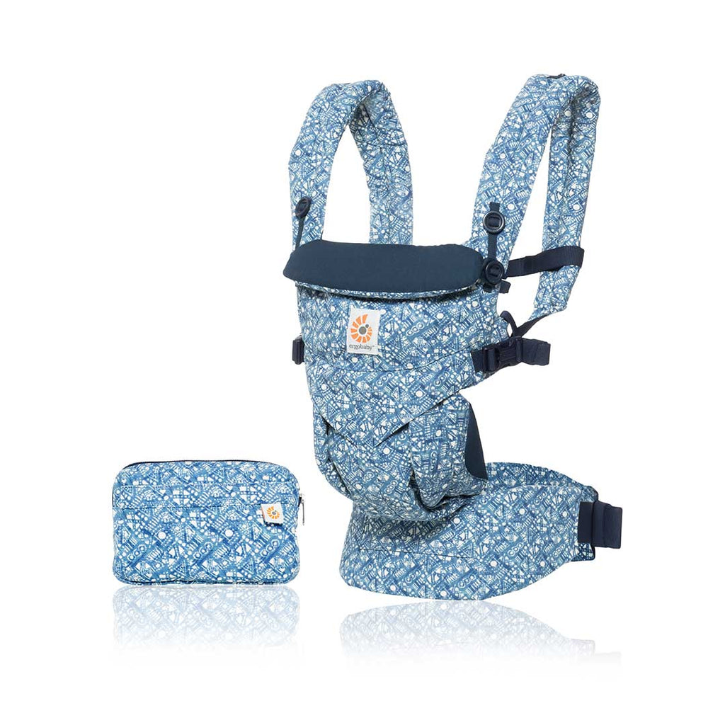 Ergobaby Omni 360 Carrier - Batik Indigo-Baby Carriers-Batik Indigo- Natural Baby Shower